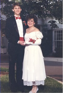 My senior prom--April 1987